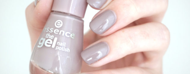 Essence tip top taupe from their gel nail polish range
