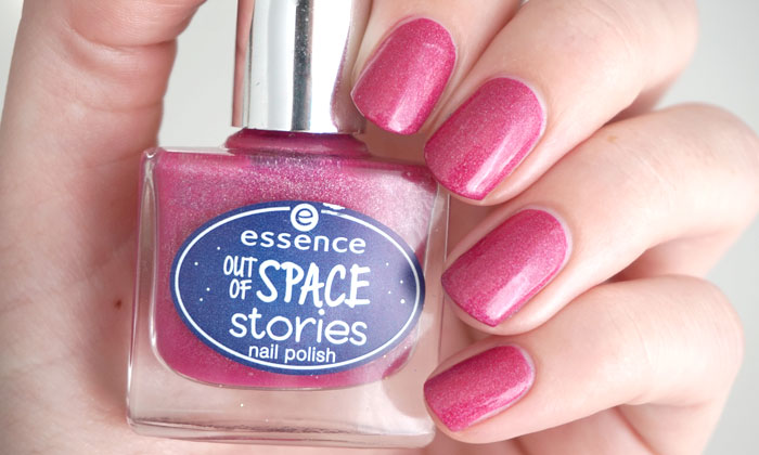 Swatches of Essence beam me up from the out of space stories collection