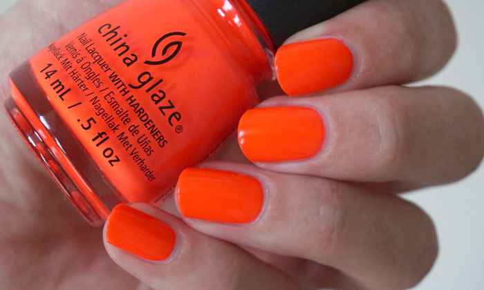 swatch of china glaze pool party