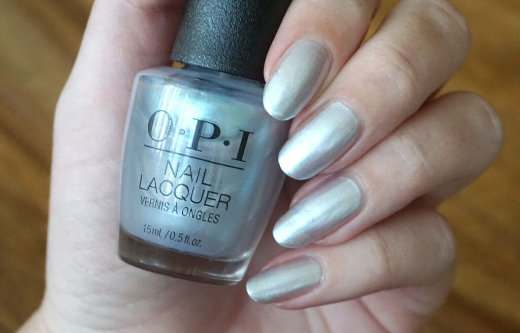 Swatch of OPI This color hits all the high notes